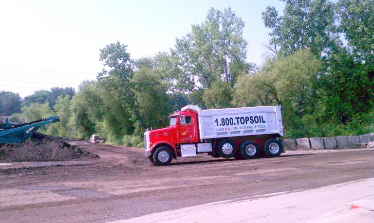 Quad-Axle Delivery Truck